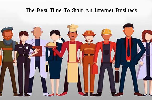بهترین زمان راه اندازی کسب و کار اینترنتی